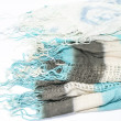 Women's scarves on an isolated background — Stock Photo