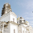 Restoration Christian cathedral in Crimea — Stock Photo
