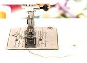 Součástí šicího stroje detail — Stock fotografie