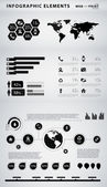 High quality business infographic elements — Wektor stockowy