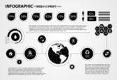 高品質ビジネス インフォ グラフィック要素 — ストックベクタ