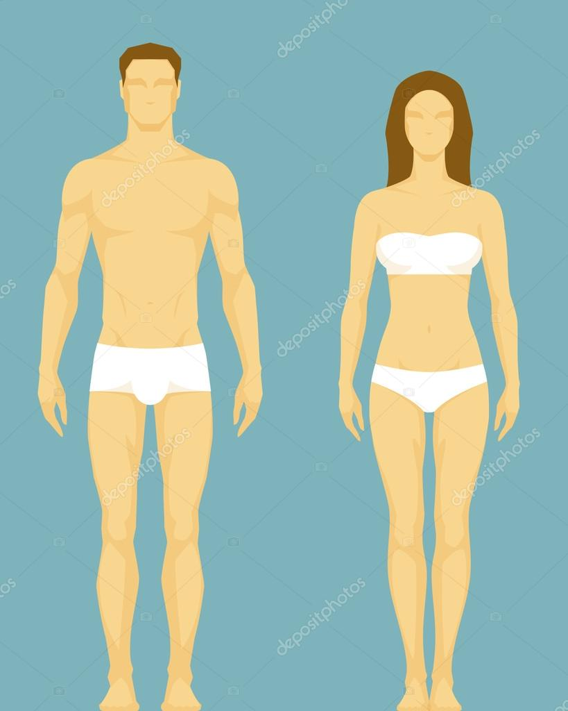 Man vs Woman Body Shape Body Type of Man And Woman