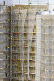 Scaffolding construction , building, repair — Stock Photo