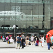 Berlin, Hauptbahnhof , august 2012 — Stock Photo #12452039