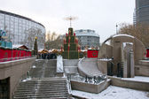Berlin, Kurfüstendamm, christmas — Foto de Stock