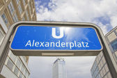 Berlin, Alexander Platz — Stock Photo
