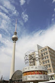 Alexander Platz, Berlin — Stock Photo