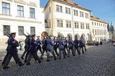 Honourabloe guard, Prag — Stock Photo