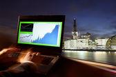 London Stock-exchange, UK — Stock Photo