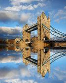 Famous Tower Bridge, London, UK — Stock Photo
