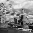 Famous Tower Bridge in the evening, London, England — Stock Photo #16785521