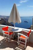 île de santorin en grèce — Photo