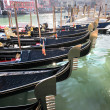 Stock Photo: Venice with gondolas on canal in Italy