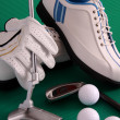 Golf equipment — Stock Photo #16830949