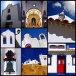 Algarve with traditional architecture in Albufeira and another villages, Portugal — Stock Photo