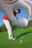 Homme, jouer au golf — Photo