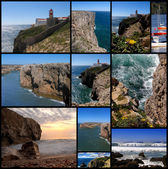 St. vincent i latarni morskiej, algarve, portugalia. — Zdjęcie stockowe