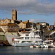 Marina in Penzance, Cornwall,  UK - Stockfoto