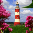 Famous Lighthouse in Plymouth, Devon, England — Stock Photo #16984261