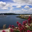 Plymouth city in Devon, England — Stock Photo