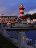 Hilton Head island, lighthouse, South Carolina, US — Stock Photo