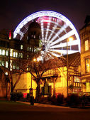 Manchester eye, UK — Stock Photo