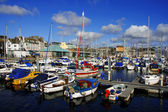 Marina, Barbican in Plymouth, England — Stock Photo