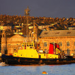 Plymouth with dockside in England — Stock Photo