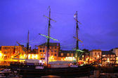 Marina in Barbican, Plymouth, UK — Stock Photo