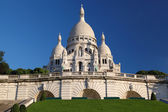 Sacre Coeur Basilica in Paris, France — Stock Photo