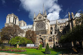 Notre Dame cathedral in Paris, France — Stock Photo
