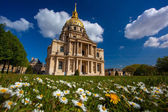 Paris, Les Invalides in spring time, famous landmark, France — Stock Photo
