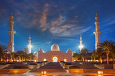 Sheikh Zayed mosque in Abu Dhabi, United Arab Emirates, Middle East — Stockfoto
