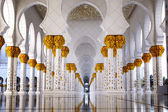Sheikh Zayed mosque in Abu Dhabi, United Arab Emirates, Middle East — Stock Photo