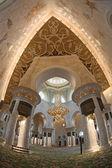 Мечеть шейха Зайда в Абу-Даби, Объединенные Арабские Эмираты, Ближний Восток — Стоковое фото