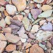 Pebbles on a dry river bed. Flinders Ranges. South Australia — Stock Photo