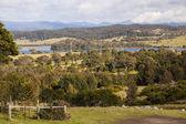 Gröna landskapet. bingie (nära morua). nsw. australien — Stockfoto