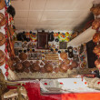 Typical interior of traditional house in ancient city of Jugol. Harar. Ethiopia. — Stock Photo #49463325