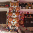 Typical interior of traditional house in ancient city of Jugol. Harar. Ethiopia. — Stock Photo #49463881