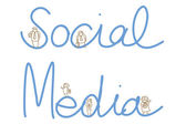 Social media people — Stock Vector