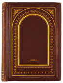 Old book with gilded ornament — Stock Photo