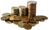 Kupie monety — Zdjęcie stockowe