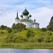 Church by the River — Stock Photo