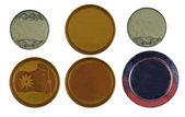 Samling av medaljer — Stockfoto