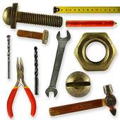 Kolekcja narzędzi — Zdjęcie stockowe