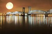 Nacht landschap — Stockfoto
