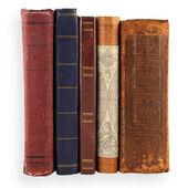 Kolekce starých knih — Stock fotografie