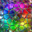 Stock Photo: Variegated glass