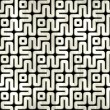 Labyrinth. Seamless background. — Stock Photo #23230766