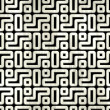 Labyrinth. Seamless background. — Stock Photo